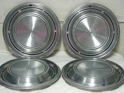 "Set Of Four Oldsmobile 1969 F85 #4014 14"" Hubcaps"