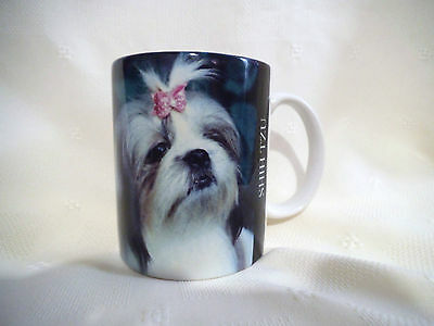 1994 Ceramic Collectible Mug Shih Tzu New Original Tag