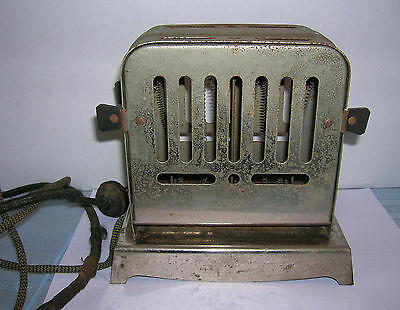 Antique Electric Knapp Monarch Co. Toaster Cat.NO. 250 – Works - 1930s