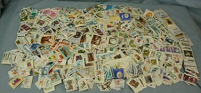 Huge Lot 2 LBS + Old World Stamps Poland Czech ++ Off Paper 17D060