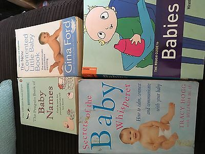 Baby books: Gina Ford, Tracy Hogg Baby Whisperer plus more