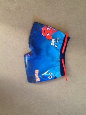 baby boys swim trunks age 12/18 months finding DORY