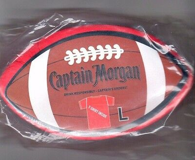 NEW Captain Morgan  Size LARGE  t shirt     Red
