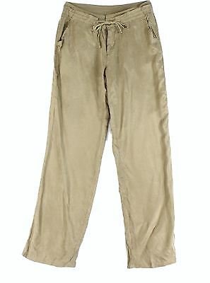 Nordstrom Rack NEW Beige Womens Size Medium M Button Front Casual Pants $60- 800