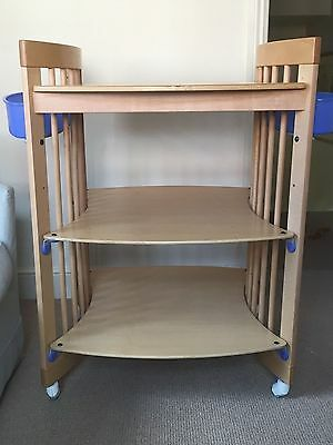 STOKKE CHANGING TABLE - NATURAL WOOD (collect from London)
