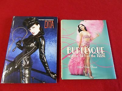 Dita Von Teese Book Lot