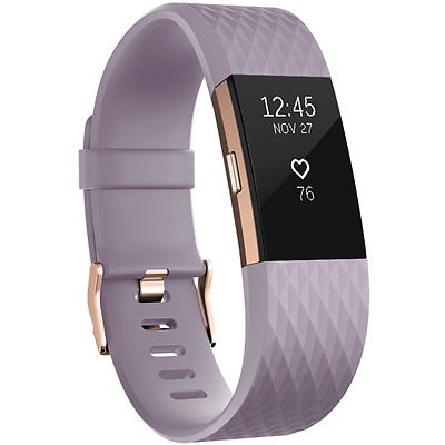 Fitbit - FB407RGLVS  - Charge 2 Fitness Wristband - Special Edition  - Small