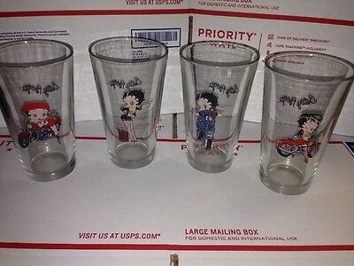 4 Betty Boop Glasses