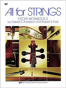All for Strings Theory Workbook BK2 - Violin - Anderson/Frost - 85VN - KJOS