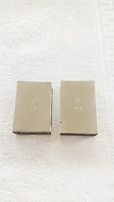 Lot of 2 vintage sterling silver Gorham match box holder (20 grams) 5130