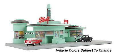 MTH #30-9188 Operating Drive-In Diner - Mel's