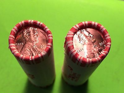 2017 P Lincoln Cent Penny - 1 Roll Lot  - First Philadelphia Mintmark!