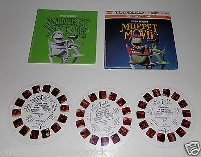 1979 View-Master Scenes From Jim Henson's Muppet Movie Packet No. K27