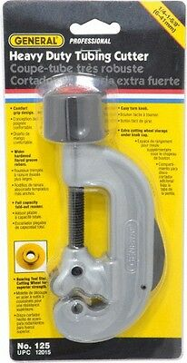 General Tools Heavy-Duty Tubing Cutter No.125 Plumbing electrical Plumber