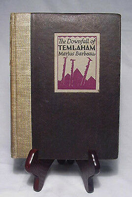 The Downfall of Temlaham by Marius Barbeau—Nice 1928 First Edition Hardback