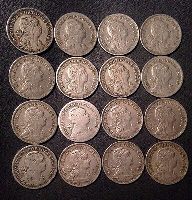 Portugal Coin Lot - 50 CENTAVOS - 1928-1968 - Unsearched - Free Shipping!!!!