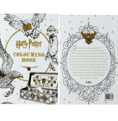 New Harry Potter English version An Inky Treasure Hunt Coloring Painting Book