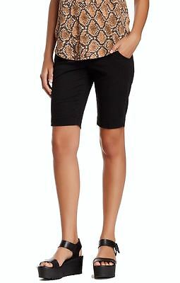 Christopher Blue NEW Black Women's Size 6 Flat-Front Bermuda Shorts $125 970