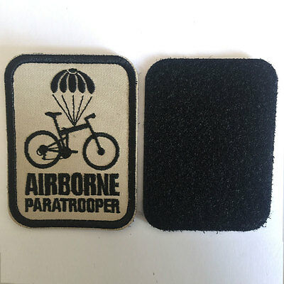 Airborne Paratrooper American USA Military Tactical Morale Badge Biker OPS Patch