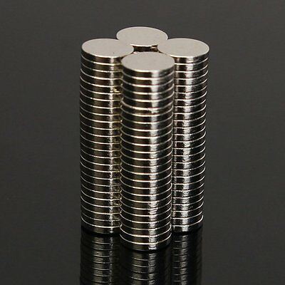 100pc N50 Super Strong Round Disc Cylinder Magnets 4 x 5 mm Rare Earth Neodymium