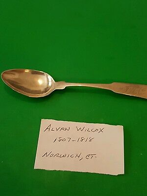 Very early coin silver spoon