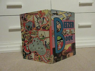 The BEEZER BOOK Annual - Year 1963- D.C THOMSON-RARE