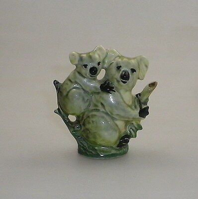 Darbyshire Koala And Baby Figurine