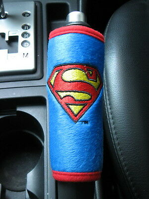 Superman Car Accessory #Blue : Hand Brake, Side Brake, Handle Cover