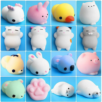 Slow Rising Squishies Charm Kawaii Squishy Squeeze Stress Healing Reliever Toy