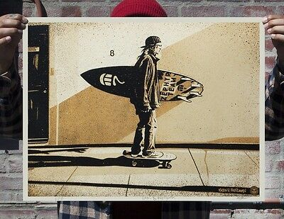 Shepard Fairey・Jeff Ho Zephyr・Gold・S/N/300・Obey Giant・Signed・Not Floral Takeover
