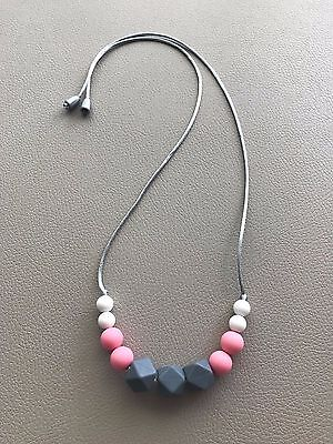 Silicone Breastfeeding Teething Necklace,Nursing,Carrier Babywearing Chewable