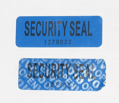 50  Tamper Proof Security Seal Labels (VOID OPEN) Stickers 5.5*2 cm  Aust Stock