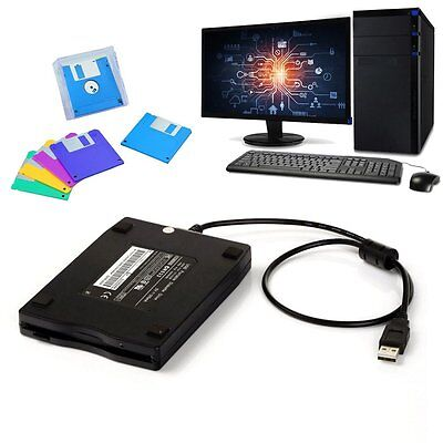 "New USB Portable External 3.5"" 1.44MB Floppy Disk Drive Diskette for PC Laptop M"