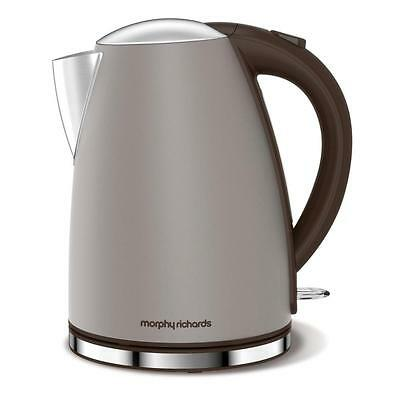 Morphy Richards Accents Pebble Electric Kettle Hot Water Boiling Jug