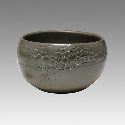 Glaze Foaming - Japanese Pottery Tea Cup : 5chawan - Japanese ceramic