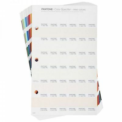 Pantone Fashion, Home + Interiors Specifier Supplement. Shows 210 new colours