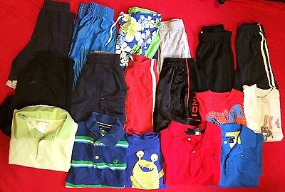 Boys Spring Summer Play Clothes Sz 4T/5T Lot Of 16 Tommy Hilfiger