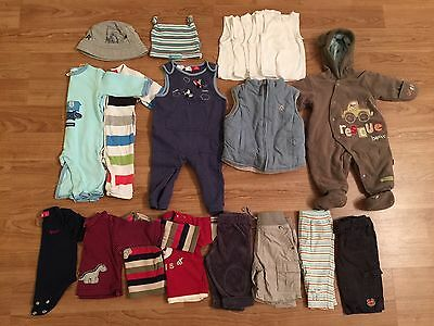 THE LOT Baby Boy Clothing ALL Sprout ALL Pumpkin Patch Size 00 & 000