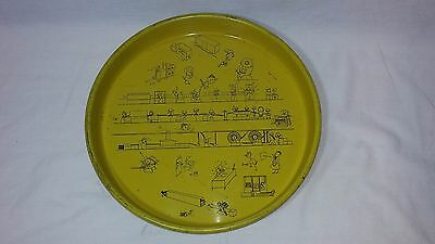 Vintage Continental Can Company Round Advertising Tray