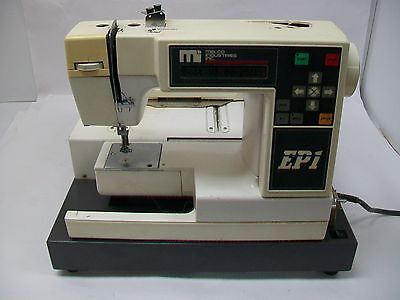 Melco Industries EPI Embroidery Machine 002944-01 - For parts/repairs