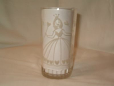 Vintage Swift Peanut Butter Glass / The Wizard of Oz Glinda / White