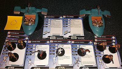 O  Star Wars Miniatures Republic Naboo Padme Panaka Typho Flash Speeder Soldier