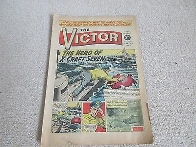 THE VICTOR COMIC,  No 107- March 9th 1963- 'The Hero of X-Craft Seven'