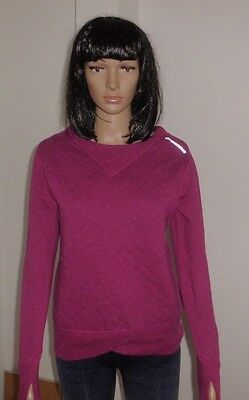 BROOKS Fly-By reversible - Wärmendes Damen Lauf-Sweatshirt in brombeere -  Gr. S