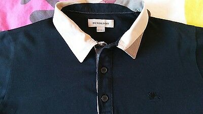 Burberry camicia polo