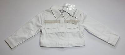 New Lovely White Gaialuna Shirts for Baby Girls size 12-18mths