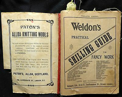 Antique 1800s Catalog Weldon's Practical Guide To Fancy Work