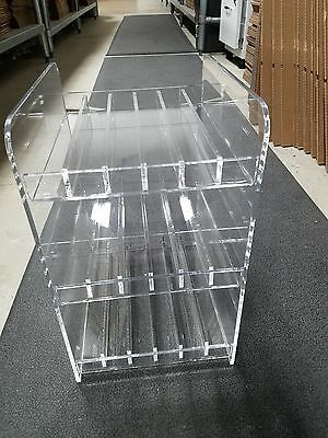 New Clear Acrylic Display Store merchandiser cosmetics essential oil beauty Tier