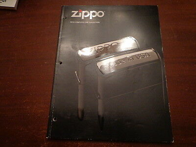 Full Size Zippo Lighter Catalog 2010 Unused
