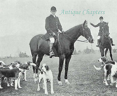 The Garth Hunt Bramshill Park 1904 4 Page Photo Article B10